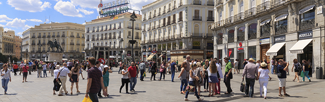 Plaza del sol Madrid