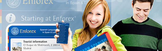 Application mobile Enforex
