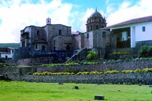 Incan ruins in Cusco