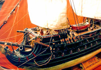 Spanish Battle Ship