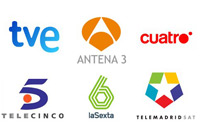 tv channels in spain