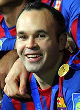 Famous Spanish People Andrés Iniesta - Famous people from spain