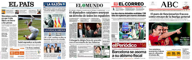 Spanish Newspapers