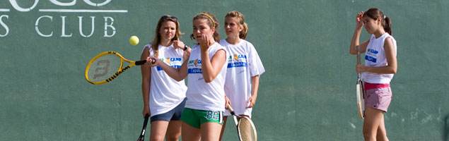Summer Camp Tennis in Spain