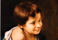 Bartolomé Esteban Murillo as a child
