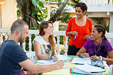 Spanish Students in Sosua