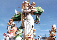 Traditionen der Las Fallas