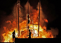 Burning Ship at Las Hogueras Festival